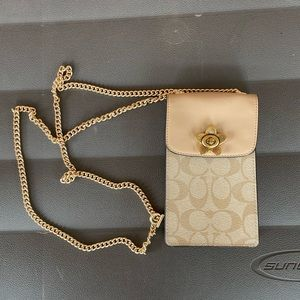 Coach wallet on a chain